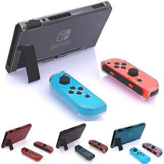 🚚 Nintendo Switch Crystal Case with Screen Protector