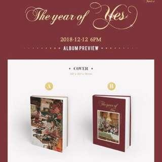 [GO] Twice 3rd Special Album 'The Year of Yes'