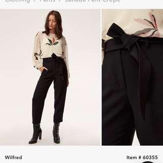 Aritzia's Wilfred Jallade Pant Black