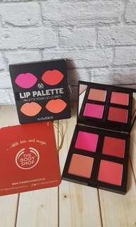 Lip pallete the body shop