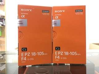 NEW SONY E PZ 18-105MM F4 G OSS (LIMITED UNIT)