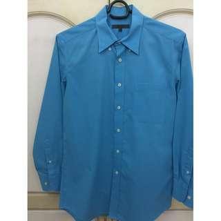 G2000 mens sky blue long sleeves M