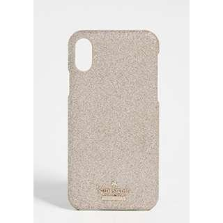 Kate Spade Glitter Snap Case iPhone X / XS Case