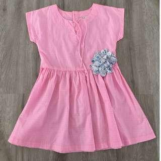 Cotton On Pink Flower Dress