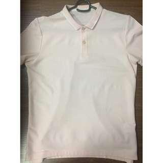 Giordano mens light pink polo shirt M SRP P1,000