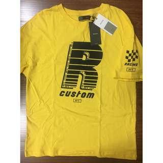 Bershka mens AW-R race custom racing tee shirt BNWT P1,000