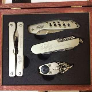 Sheffield Multi Tool in a Wooden Box