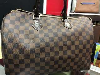 💯%Original LV Bag Speedy Damier Size 35