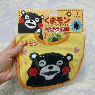 🚚 全新正版日本熊本熊圍兜