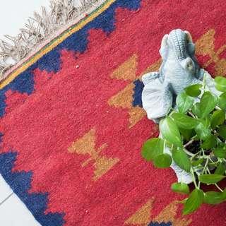 Handwoven Persian Kilim160x80cm