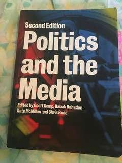 Politics and the Media - Politics 113