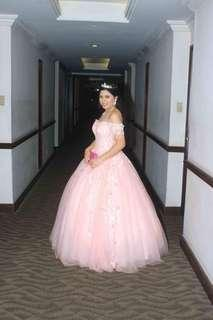 Ball gown for debut for rent