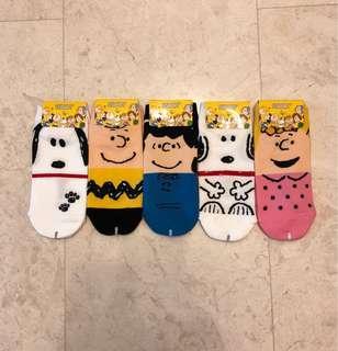 Snoopy ankle socks
