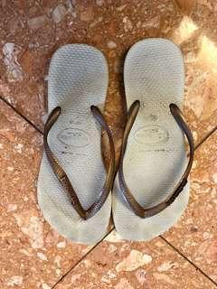 🚚 Havaianas女款休閒夾腳拖鞋