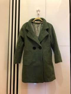 🚚 韓版女款保暖長款大衣