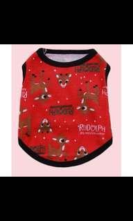 Pet clothing dog clothes Christmas cloth