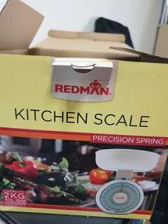 Redman weighing machine (baking)