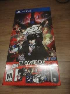 PS4 Persona 5 Take Your Heart Edition
