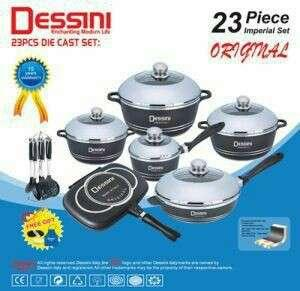 23 Dessini Italy Cooking set