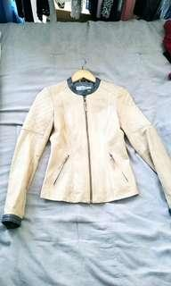 Genuine Leather Jacket from Saks on 5th Ave