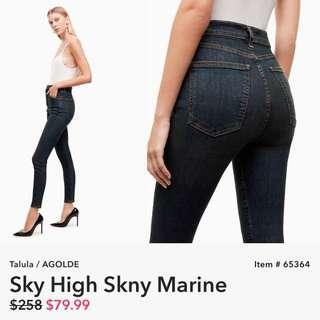 Aritzia Agolde Sky High Skinny