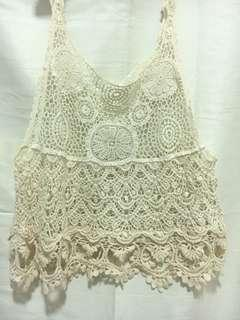 Crotchet singlet top