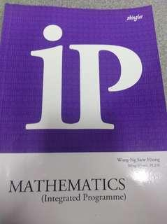 Sec 1 IP mathematics assessment book (shinglee)