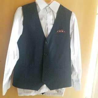 3 pieces boys suit