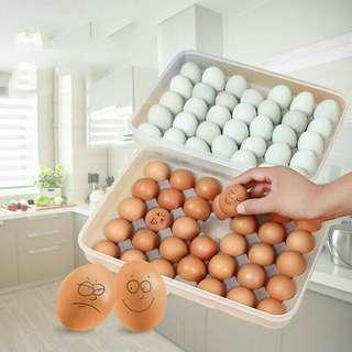 34 Grid Egg Container