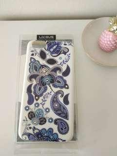 Iphone 6s blue bling case