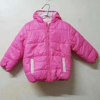 🚚 mom & bab女童外套,雙面穿,4T