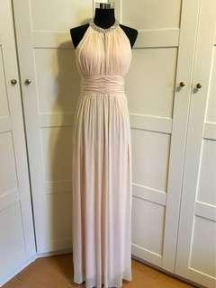 Evening Gown/ baby pink gown/ light pink maxi dress/light pink dress/ baby pink dress/prom dress/ long dress/light pink long dress/ pink long dress/ pink maxi dress/ pink dress/ light pink dress