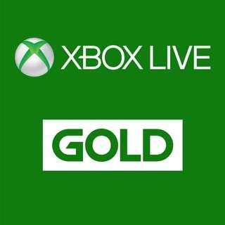 XBox Live Gold 14 day membership