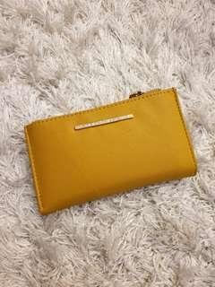 Mustard Yellow Stradivarius Wallet