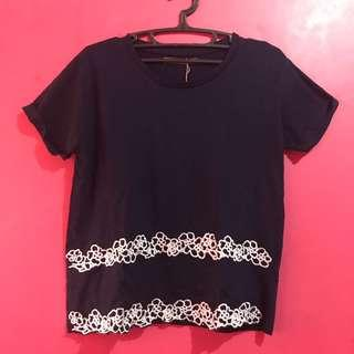 Sfera Casual dark blue top