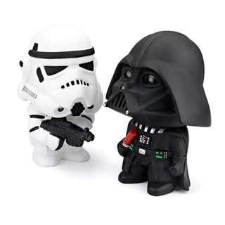 2Pcs Star Wars Dark Knight StromTrooper Soldier Weapons for Car Decoration