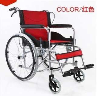 (SOLD) Wheelchair self propelled FOLDABLE Wheelchairs new in stock