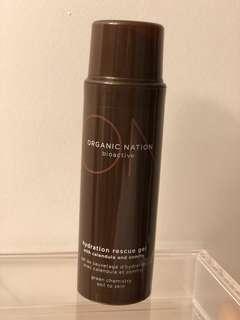 Organic Nation rescue hydration gel moisturizer