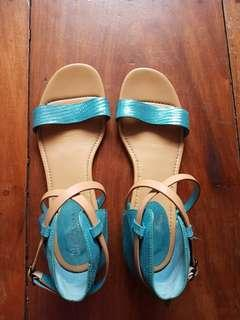 COLE HAAN WOMEN'S MARIA SHARAPOVA LIMITED EDITION LEATHER SANDALS, size 9