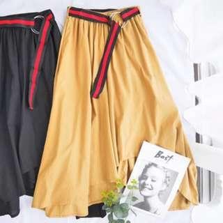 Unique Culottes With Belt