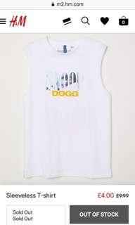 H&M Sleeveless SNOOP DOGG