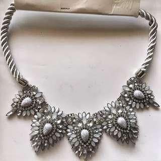 H&M studded Diamond Necklace