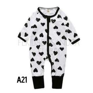 Sleepsuit Code A21 - A30
