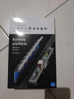 nGSC_001 nanoblock nano Gauge railway station platform