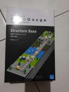 nGSC_003 Nanoblock Nano Gauge structure base