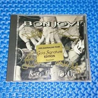 🆒 Bon Jovi - Keep The Faith (Gold Signature Australian Tour Edition) [1993] Audio CD