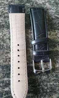 Genuine leather watch belt