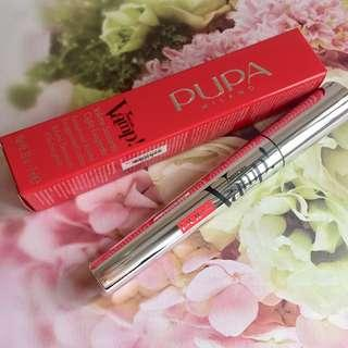 PUPA VAMP EXCEPTIONAL VOLUME EXAGGERATED LASHES BLACK MASCARA 睫毛液