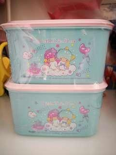 [Instock] Little Twin Stars 2pcs Container