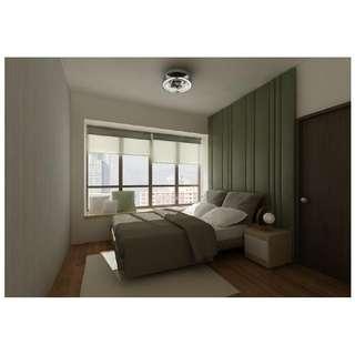 Furniture in Bedroom and Interior Design